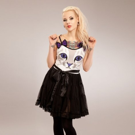 New Dress in Cupcake Cult Feline Dress